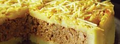 Torta de batata com carne moída Savoury Baking, Meatloaf, Deli, My Recipes, Mashed Potatoes, Food And Drink, Quiches, Ethnic Recipes, Desserts