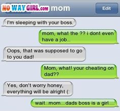 The Web Babbler: Funny Texts #30