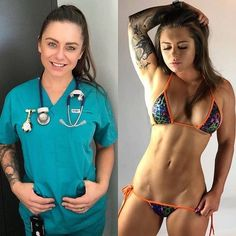 Pictures of sexy women who look just as hot in their unforms as they do out fo them Sport Fitness, Fitness Models, Gym Fitness, Fitness Life, Squats Fitness, Sexy Bikini, Bikini Girls, Bikini Babes, Bikini Set