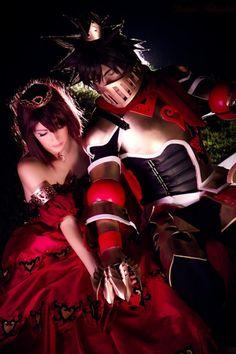 Kairi, Sora #cosplay Kingdom Hearts 2