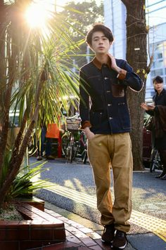 ICCHO STYLE BLOG -TOKYO STREET STYLE MAGAZINE: [dude style no.79] - 成田 凌