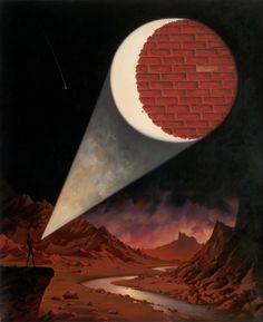 "Vladimir Kush (Russia, born ""Dark side of the moon"" Vladimir Kush, Wassily Kandinsky, Renoir, Monet, Mystic Moon, Surrealism Painting, Online Painting, Surreal Art, Stars And Moon"