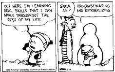 calvin and hobbes wisdom | Lessons in Political Economy / The Wisdom of Calvin and Hobbes / 3