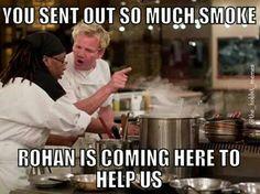 Haha cook jokes the best