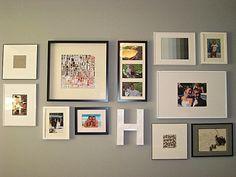 Eat. Sleep. Decorate.: Gallery Wall Progress