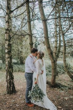 Whimsical Green Copper Rustic DIY Wedding http://www.brookrosephotography.co.uk/ #wedding #blog #real #uk #whimsical #diy #green #copper #rustic