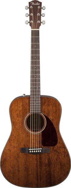 Acoustic Guitar - For sweetly mellow tone, our best-selling dreadnought acoustic is now available with all-mahogany construction, including the solid top with scalloped X bracing. Other features include multi Fender Acoustic Electric Guitar, Jazz Guitar, Fender Guitars, Cool Guitar, Acoustic Guitars, Guitar Building, Types Of Music, Sound Of Music, Playing Guitar