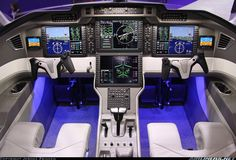 Wow! Look at the cockpit mockup of the upcoming Pilatus PC-24! Yoke looks like an XBox controller.