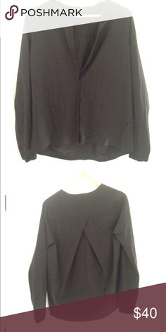 Black luxtreme cardigan EUC, sfpf home- worn once to the office! Super cute, just don't wear it enough. My loss your gain lululemon athletica Tops