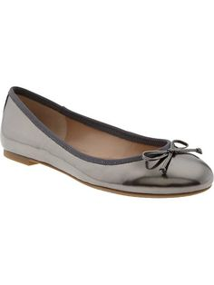 Ashley Bow Ballet Flat - Breathable synthetic lining.