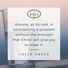 Colin Smith: on anxiety