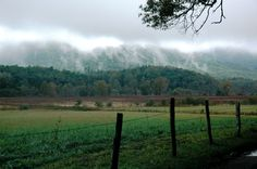 Cades Cove - An 11 mile loop in the Smoky Mountains National Park.