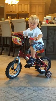 You mean I have to pedal this thing myself??? Keelan Harvick encounters a challenge he's never faced before. 06/17/14