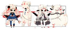 [CLOSED] ADOPT AUCTION 190 - Evil Plushies Charmer by Piffi-adoptables.deviantart.com on @DeviantArt
