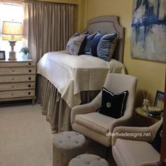 Out of the box DORM room ideas worth seeing.... Think Long-Term | 23 Stylish Dorm Room Ideas - Southern Living Mobile