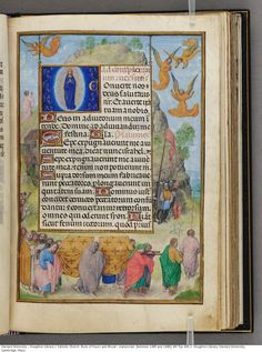 Catholic Church. Book of Hours and Missal : manuscript, [between 1485 and 1490].
