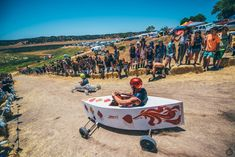 The Soap Box Derby is the non-musical highlight of Saturday at LIB. The ABCs of Lightning In A Bottle (Photo by: Juliana Bernstein) Lightning In A Bottle, Soap Boxes, Abcs, Highlight, Derby, Musicals, Life, Lights, Highlights