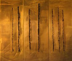 Lucio Fontana - Concetto Spaziale, New York 10 - 1962 Lucio Fontana, Modern Art, Contemporary Art, Tachisme, Digital Art Photography, Art Moderne, Minimalist Art, Installation Art, Art Blog