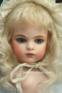 bru japanese artist reproduction doll, super fabulous and collection worthy!