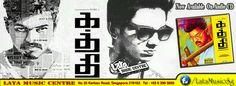 Kaththi Original AudioCD Now Available At Lata Music Centre Singapore Movie : KATHTHI Music : Anirudh Ravichander Director : A.R.Murugadoss 1. Pakkam Vanthu Lyrics : Madhan Karky, Hiphop Tamizha Singers : Anirudh Ravichander, Hiphop Tamizha 2. Paalam Lyrics : Yugabharathi Singers : Shankar Mahadevan, Shweta Mohan 3. Kaththi Theme… the Sword of Destiny Singers : Anirudh Ravichander 4. Selfie Pulla Lyrics : Madhan Karky Singers : Vijay, Sunidhi Chauhan 5. Bad Eyes… Villain Theme Singers…