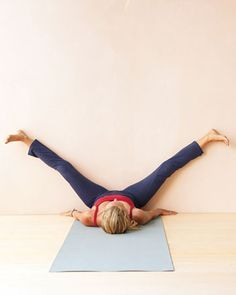 DETOXIFYING STRETCHES TO BOOST YOUR IMMUNITY | Your immune system is like a superhighway -- a network of channels and nodes that delivers immune cells and removes pathogens via a clear liquid known as lymphatic fluid. The key to keeping it free of blockages? You need to move, says Katy Bowman, a biomechanical scientist and the director of the Restorative Exercise Institute in Ventura, California. #exercise #movement #wellness #stretches