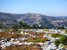 El Parque Natural Sierra Cebollera, entre Villoslada de Cameros y Lumbreras, es un espacio protegido, que marca la frontera entre La Rioja y Soria,