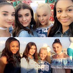 Kendall, Kalani, JoJo and Nia