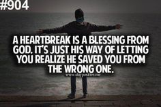 God knows what he is doing just trust in him. If yall broke up it is for a reason. There is someone better out there