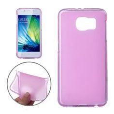 Samsung S6 TPU Beschermhoes, case, frontje roze