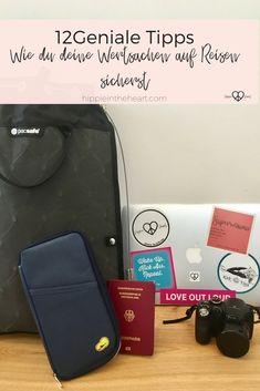 Du hast keine Ahnung wohin mit deinen Wertsachen auf Reisen? Du willst nicht ständig alles mit dir rumschleppen? Du willst dich auf deinen nächsten Backpacking Trip vorbereiten und dich mit Sicherheits-Gadgets ausstatten? Hier kommen 12 geniale Tipps - So schützt du deine Wertsachen auf Reisen. #backpacking #reisen #travel #backpackingthailand #wertsachen #thailand