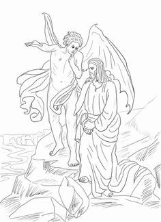 Jesus Temptation Coloring Pages Select From 30215 Printable Of Cartoons Animals Nature Bible And Many More