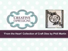 Creative Expressions From The Heart Craft Dies - YouTube