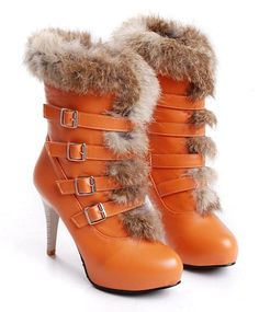 Find this style and many more at www.malinesboutique.com Fur Boots 886eecc58239