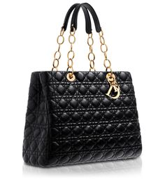 DIOR SOFT - Dior Soft shopping bag in black leather