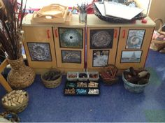 Inquiring Minds: Mrs. Myers' Kindergarten: Nature Inspired Art (Loose Parts)