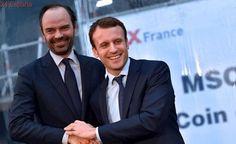 Emmanuel Macron elige a Édouard Phillippe como primer ministro de Francia