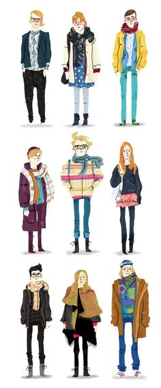 HEL-LOOKS by Rafael Mayani, via Behance. I love this because, of course, I love HEL-LOOKS.