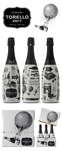 TORELLÓ BRUT SPECIAL EDITION on Behance