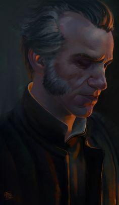Regis - Game Version, Basia Karbowiecka on ArtStation at https://www.artstation.com/artwork/bDYda