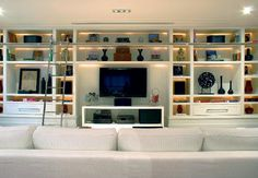 sala - parede home theater