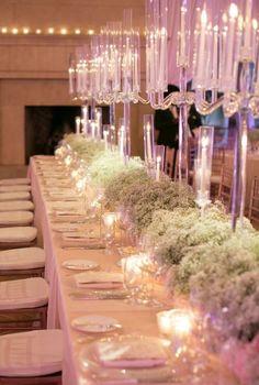 Photographer: Marianne Lozano Photography; Wedding reception centerpiece idea