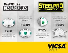 fb751c8191 ... VICSA Safety Perú. [STEELPRO: Mascarillas Descartables] Conoce nuestros  productos en: http://www