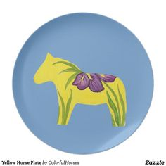 Yellow Horse Plate