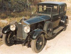 1929 Sedanca de Ville (chassis 9WJ)