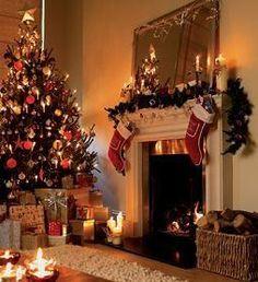 Fireplace @ Christmas