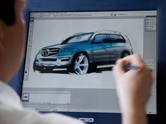 A design gallery of the 2008 GLK, that will be replaced by the new GLC