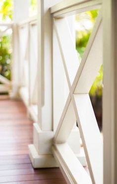 Browse photos of back porch ideas to get inspiration for your own remodel. Discover porch decor and railing ideas, as well as layout and cover options. Front Porch Railings, Patio Railing, Railing Ideas, Patio Stairs, Small Front Porches, Decks And Porches, Front Porch Makeover, Building A Porch, House With Porch