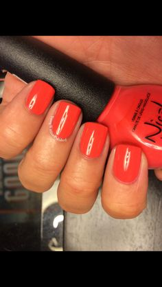 Nicole by OPI The Coral of the Story by Young Wild and Polished