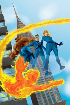 Fantastic Four by TONY HARRIS & TOM FEISTER