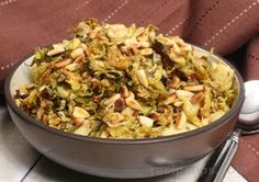Shredded Parmesan Brussels Sprouts Recipe